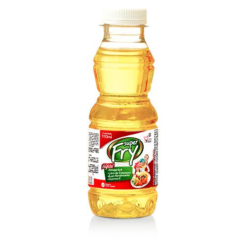 Aceite vegetal superfry de 110 mililitros