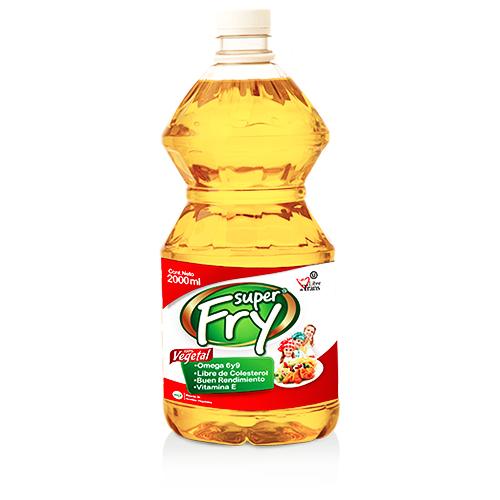 Presentacion de aceite vegetal 2000 mililitros