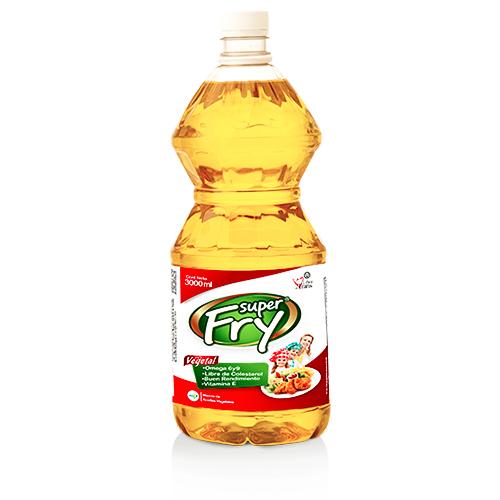 Aceite vegetal superfry de 3000 mililitros