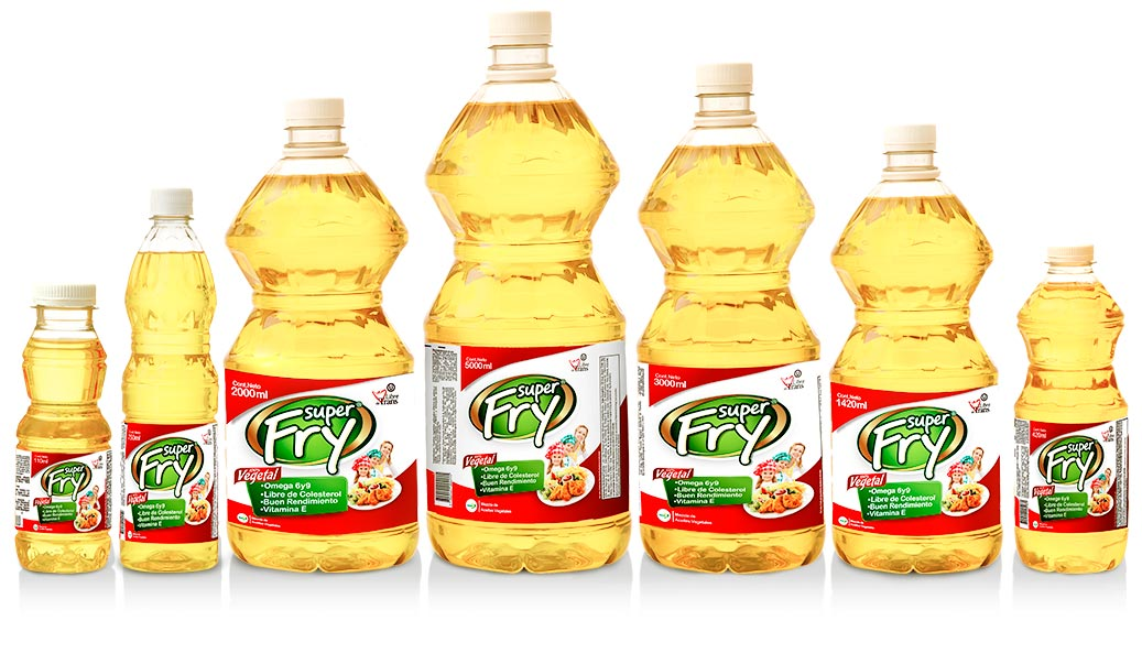 Portafolio y presentaciones de aceites de superfry