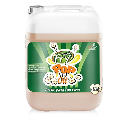 Presentacion de aceite para pop corn 20 litros